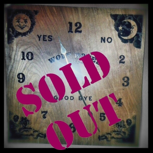 WHClock TnB Store Sold Out